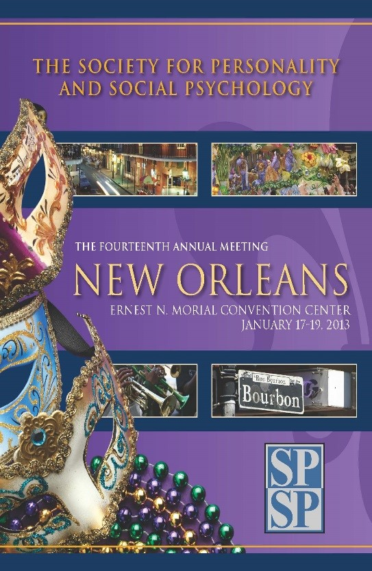2013 SPSP convention cover
