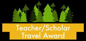 Teacher/Scholar Travel Award button