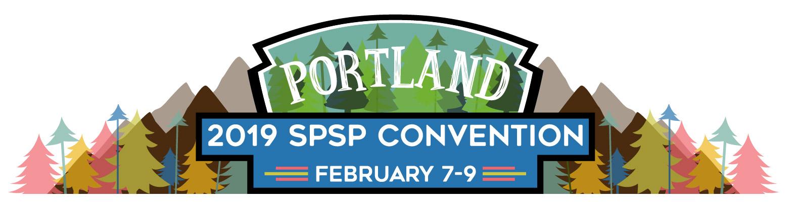 Portland SPSP 2019 logo