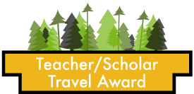 Teacher/Scholar Travel Award button
