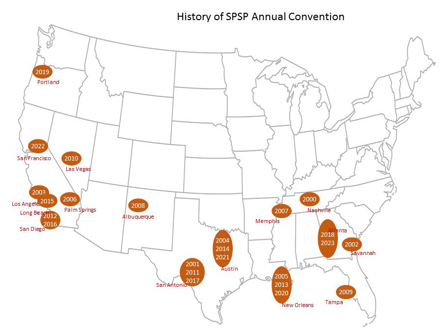 History of SPSP Annual Convention