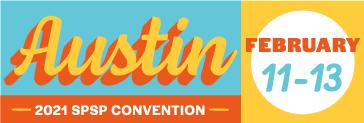 Austin Texas SPSP2021 logo