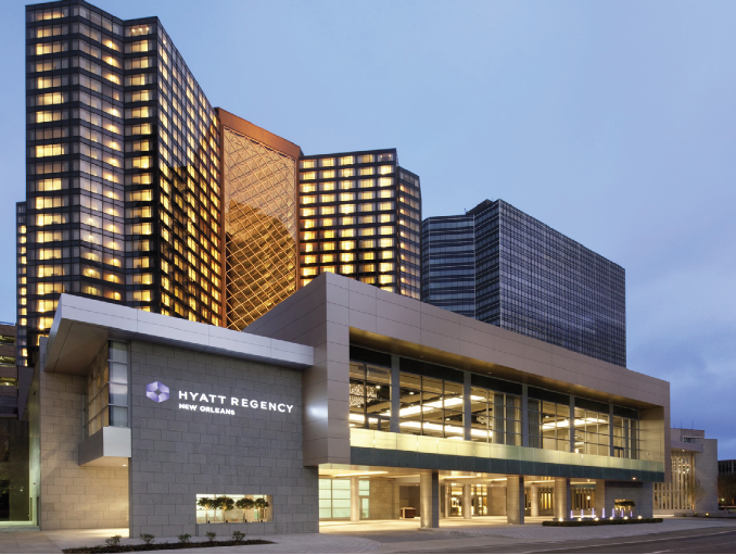 Hyatt Regency in New Orleans